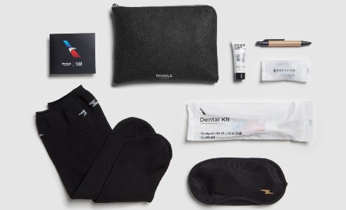 Business Class Transcontinental Amenity Kit